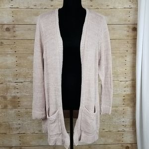 Torrid Open Front Cardigan Sweater With Pockets